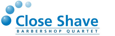 Close Shave Barbershop Quartet Logo